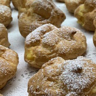 Bigne` con Crema Pasticcera 15 Pezzi
