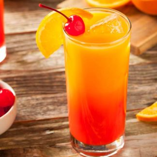 San Bitter mit Orangensaft